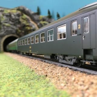 Märklin h0 43262 PMS 60-06 4-Achser train de passagers-postgepäckwagen nouveau dans neuf dans sa boîte #1544