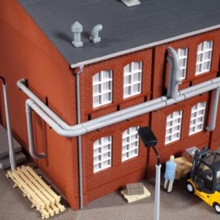 Tuyauterie extérieure pour immeubles-HO 1/87-AUHAGEN 80104