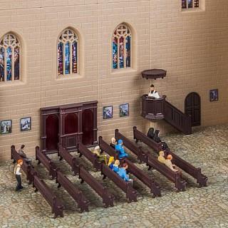 Set décoration église-HO 1/87-FALLER 180346
