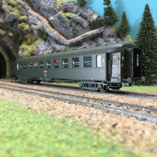 Voiture OCEM PL B10 ép IV SNCF Ouest-HO-1/87-R37 42206