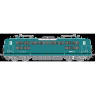 Locomotive BB8521 Les Aubrais Sncf ép III -HO 1/87-R37 41038