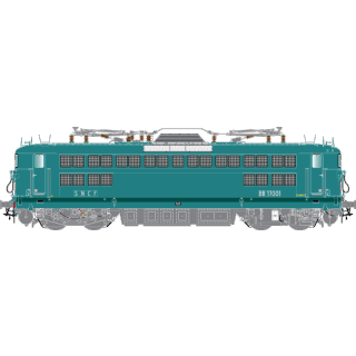 Locomotive BB17001 La Chapelle Sncf ép III -HO 1/87-R37 41040
