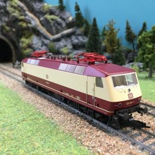 Locomotive BR E 120 004-7 DB ép IV -HO-1/87-FLEISCHMANN 435304