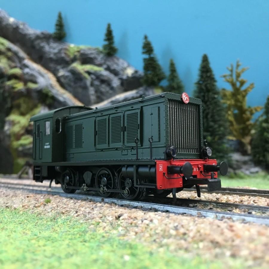 Locomotive diesel 030 ép III SNCF-HO 1/87-BRAWA 41624
