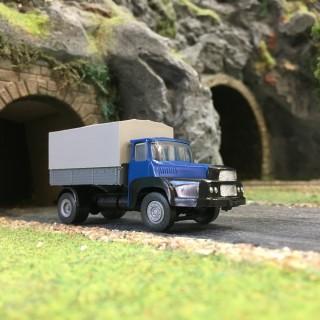 Camion UNIC Bleu Baché-HO 1/87-SAI 831B