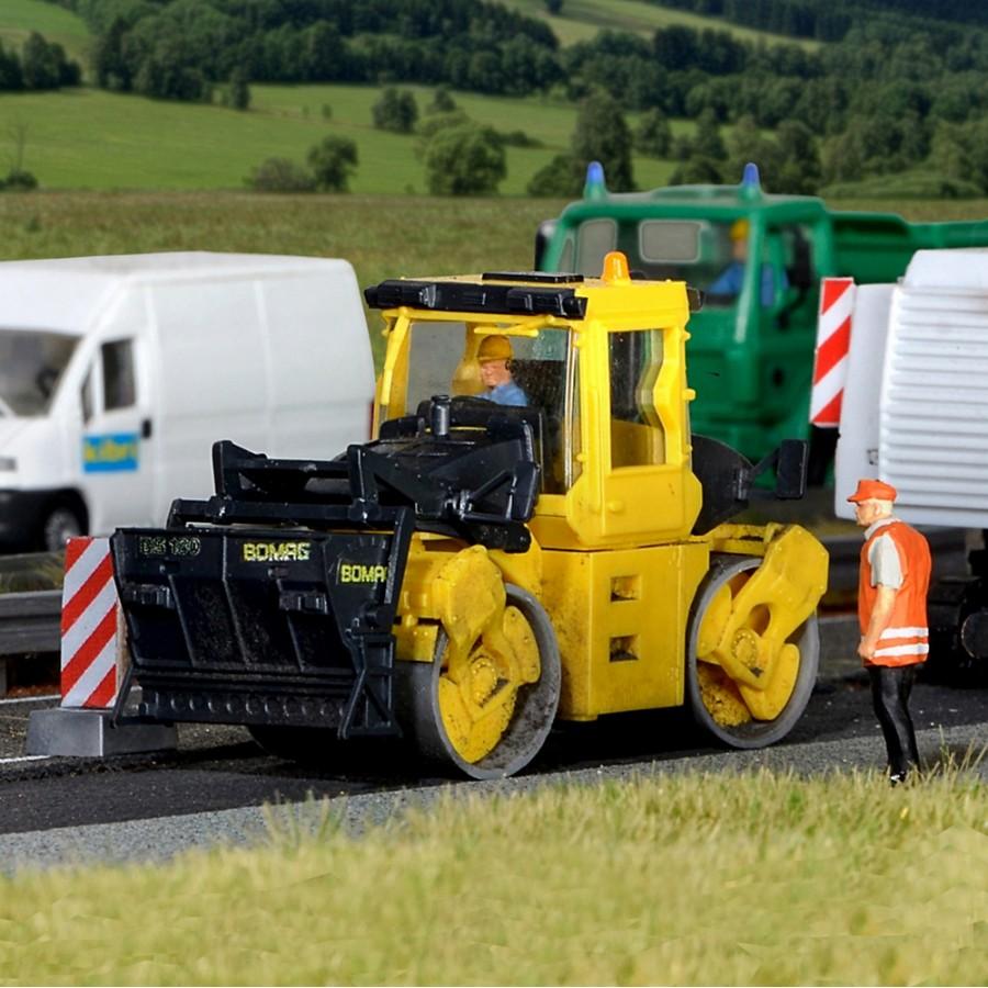 Rouleau compresseur Bomag BS180-HO-1/87-KIBRI 11558