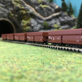 Coffret de 5 wagons à déchargement DR Ep IV-Z 1/220-MARKLIN 82802