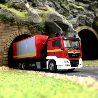 Camion MAN TGS Pompiers-HO-1/87-HERPA 093705