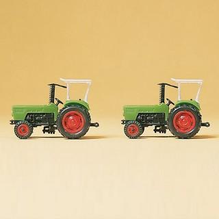 2 Tracteurs Deutz D N-1/160-PREISER 79506