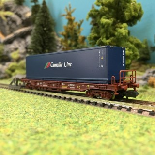 "Wagon porte container ""Camellia Line"" Renfe Ep V-N 1/160-FLEISCHMANN 845368"