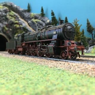 Locomotive P10 Ep II DRG digitale sonore-HO 1/87-TRIX 22239