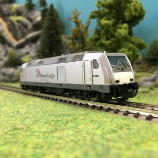 Locomotive BR285 Rhein Cargo Ep VI digitale-N 1/160-MINITRIX 16641