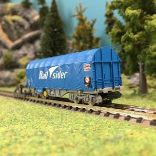 Wagon de marchandises Rail Sider époque VI-N 1/160-FLEISCHMANN 837925