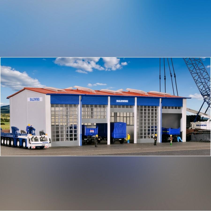 Local, hangar à véhicules-HO 1/87-KIBRI 39212