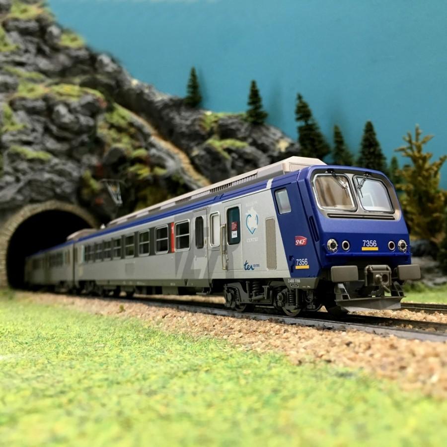 Automotrice Z2 Z7356 TER Centre EpV SNCF-HO 1/87-PIKO 96420