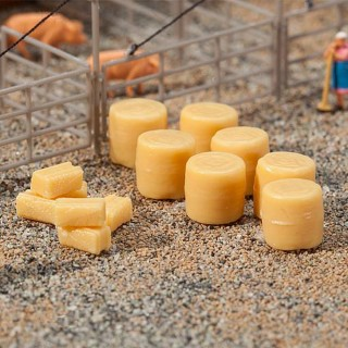 36 balles de foin-N 1/160-FALLER 272900