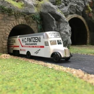 "Camion remorque Mercedes ""Fintzen""-HO 1/87-HERPA MBL311HZ DEP17-432"