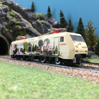 Locomotive BR152 DB 3R-HO-1/87-MARKLIN 37352 DEP155-005