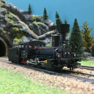 Locomotive 53 7116 Ep II DR-HO 1/87-LILIPUT 131962