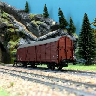Wagon couvert SNCF Ep IV-HO 1/87-BRAWA 48723