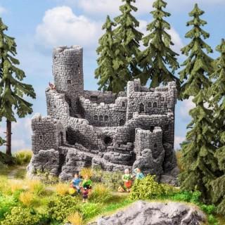 Ruine de château fort pour décor -HO-1/87-NOCH 58609