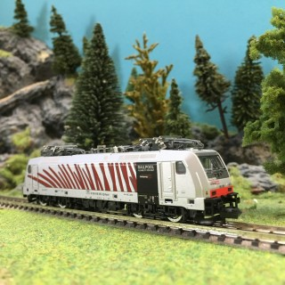 Locomotive BR186 Ep VI digital son-N 1/160-MINITRIX 16874
