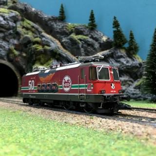 "Locomotive Re 4/4 II SBB ""LGB"" digital son-HO 1/87-TRIX 22843"