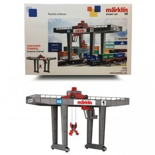 Terminal-Pont Grue-pour containers-HO 1/87-MARKLIN 72452