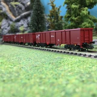 3 wagons tombereaux Ep VI-N 1/160-FLEISCHMANN 828343
