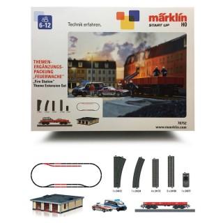 """Coffret de complément """"Pompiers""""-HO 1/87-MARKLIN 78752"""