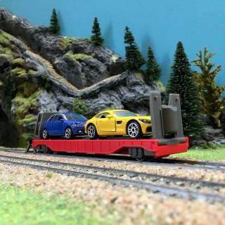 "Wagon transport automobiles ""My World""-HO 1/87-MARKLIN 44110"