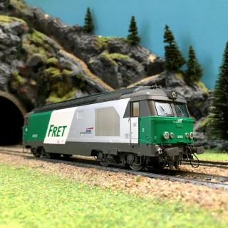 Locomotive BB 467537 LONGUEAU ép V SNCF digital son 3R-HO-1/87-REE MB069SAC