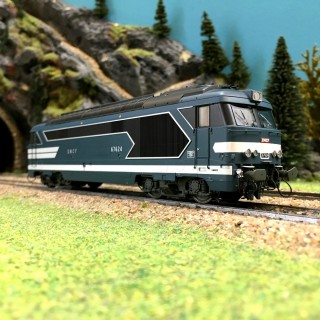 Locomotive BB 67624 Limoges ép III IV SNCF digital son-HO-1/87-REE MB067S