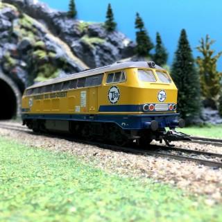 Locomotive Diesel TSO 3R Delta-HO 1/87-Marklin 37743 DEP155-004