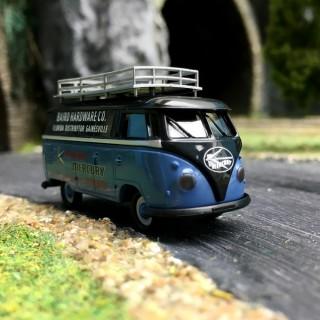 "Combi Split VW T1 ""MERCURY"" avec galerie -HO 1/87-BREKINA 32704"