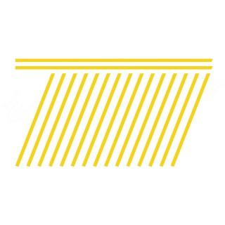 Marquage Jaune lignes de stationnement-HO-1/87-SAI 1036