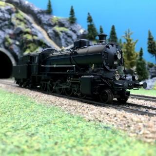 "Locomotive série C 5/6 "" Elefant"" Ep III SBB digital son-HO 1/87-TRIX 22926"