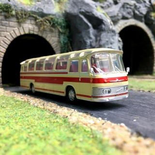 Bus Neoplan NS12 Rouge-HO-1/87-Starline Models 58231