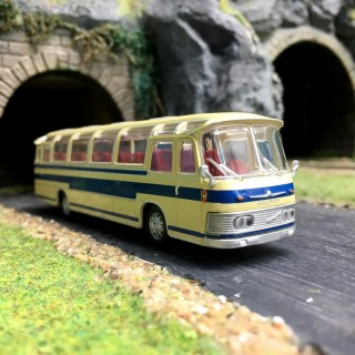 Bus Neoplan NS12 BleuHO-1/87-Starline Models 58233
