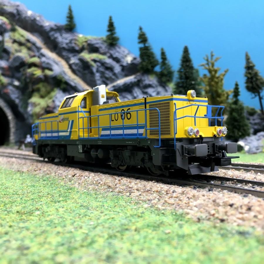 Locomotive Diesel BB60000 E-Genie digitale son-HO 1/87-PIKO 96476