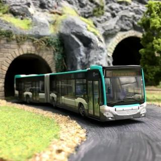 Bus Mercedes Citaro RATP Paris-HO 1/87-RIETZE 69563