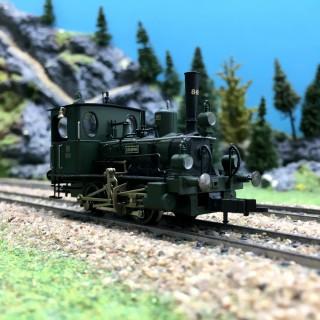 Locomotive Bavaroise Type D6 K.Bay. Sts.B. Ep I-HO 1/87-FLEISCHMANN 481803