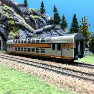 Voiture VB2N CL2 SNCF-HO 1/87-VITRAIN 3162