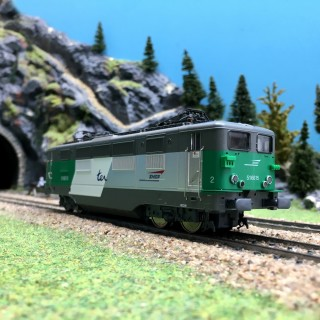 "Locomotive BB 16615 ""TER"" Ep V SNCF-HO 1/87-VITRAIN 2224"