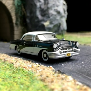 Buick Century 1955-HO 1/87-OXFORD BUSCH 87BC55005