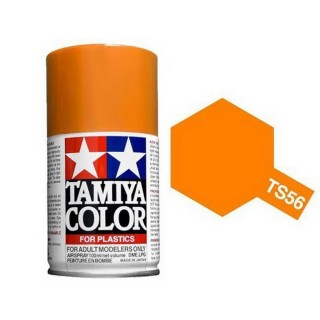 Orange Vif Brillant Spray de 100ml-TAMIYA TS56