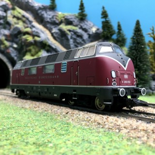 Locomotive V 200.0 Ep III DB digitale sonore 3R-HO-1/87-MARKLIN 37806