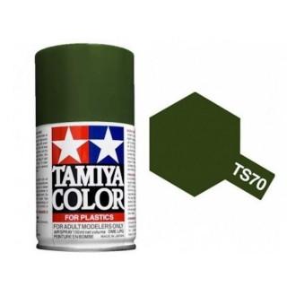 Vert Olive Mat Spray de 100ml-TAMIYA TS70