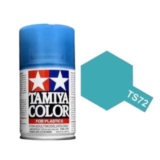 Bleu translucide Spray de 100ml-TAMIYA TS72