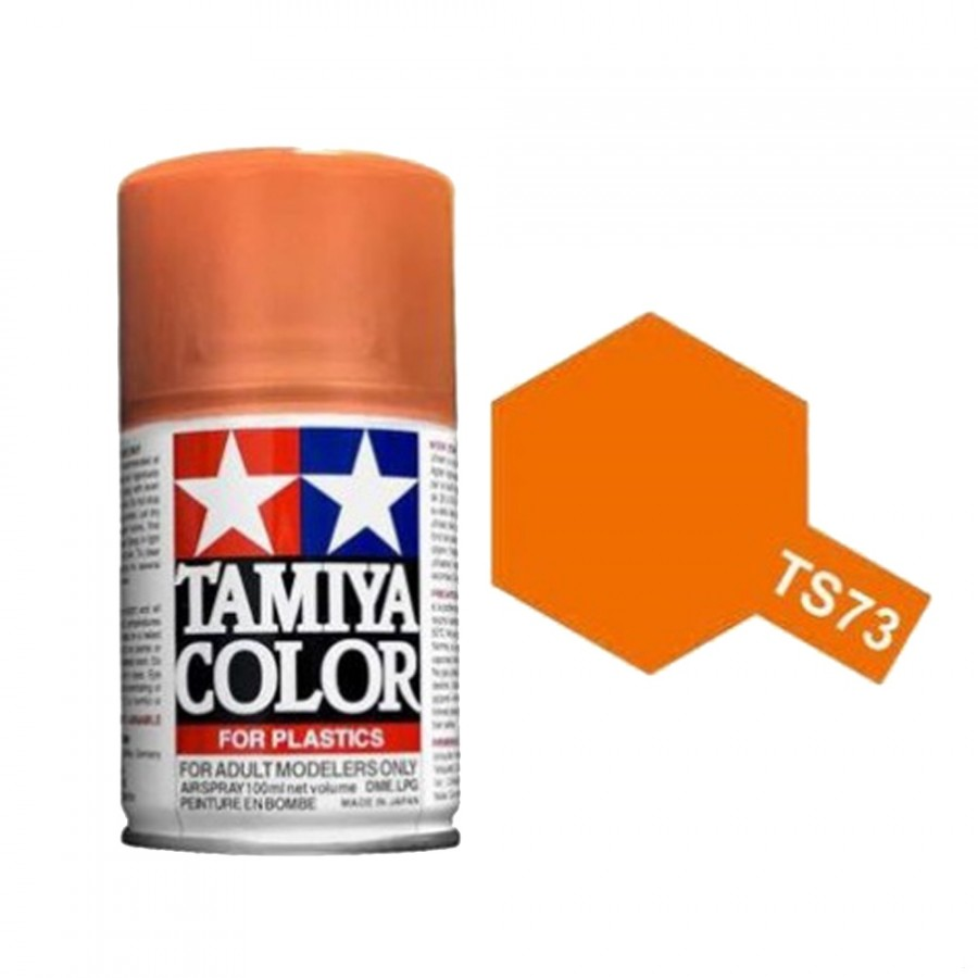 Orange translucide Spray de 100ml-TAMIYA TS73